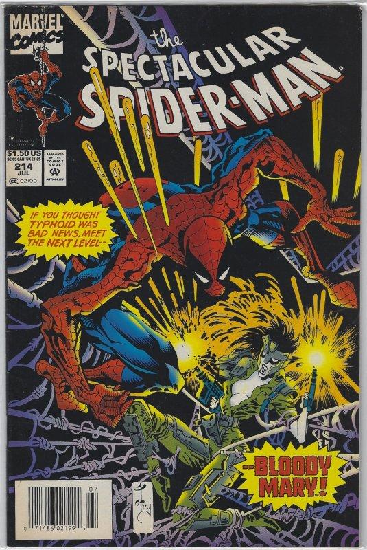 Spectacular Spider-Man #214