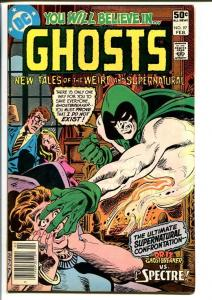 GHOSTS #97 1981 DC COMICS -FIRST SPECTRE COVER FN