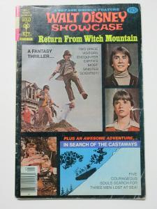 Return from Witch Mountain Walt Disney Showcase #44 (Gold Key1978) G+
