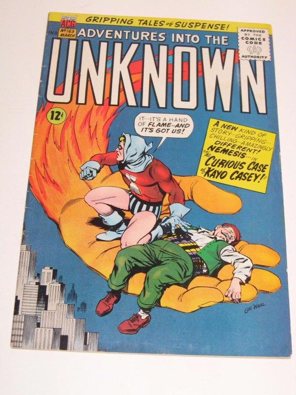 Adventures into the Unknown #163 (Mar 1966, American Comics Group)