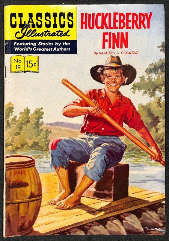 Classics Illustrated (GB) #1 (1951)