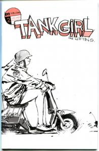 TANK GIRL #2, NM, Ashley Wood, Alan Martin, 2007, more IDW in store, A