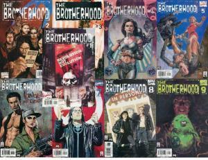 BROTHERHOOD, THE (2001)1,2B,3-9  complete MUTANT story! COMICS BOOK