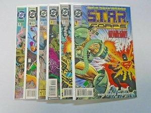 Star Corps set #1-6 8.0 VF (1993)
