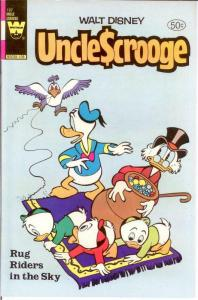 UNCLE SCROOGE 187 VF 1981 COMICS BOOK