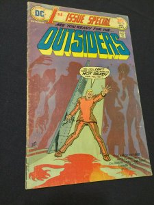 1st Issue Special #10 Outsiders FN DC Comics (1975)