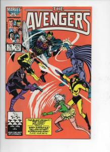 AVENGERS #271, NM-, YellowJacket, Wasp, Mimi, 1963 1986, more Marvel in store