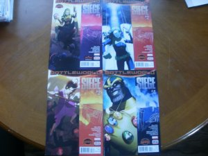 4 Marvel Secret Wars BATTLEWORLD SIEGE #1 #2 #3 #4 (Kang Fury Thanos Ben Grimm)