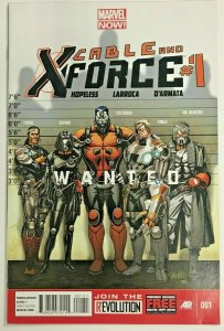 CABLE & X-FORCE#1 VF/NM 2013 MARVEL COMICS