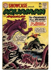 Showcase Comics #30 1961 1st Aquaman tryout Origin hot book G/VG