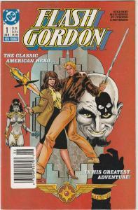 5 Flash Gordon DC Comic Books # 1 2 3 4 6 Ming the Merciless Jurgens KS1