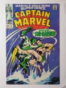 Captain Marvel #4 (1968)