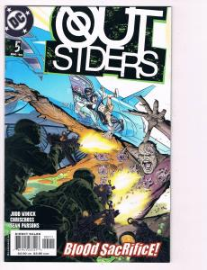 Outsiders # 5 DC Comic Books Awesome Issue Modern Age NIghtwing Metamorpho!! S24