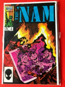 THE NAM V1 #3  1986 MARVEL 25 ANNIVERSARY  /  HIGH QUALITY