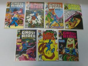 Original Ghost Rider Rides Again set #1-7 8.0/VF (1991)