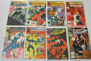 Web of Spider-Man comic lot from:#26-50 19 difference 8.0 VF (1987-89)