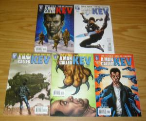 A Man Called Kev #1-5 VF/NM complete series - garth ennis - authority spin-off