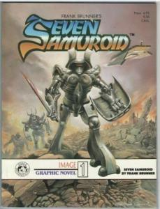 Image Graphic Novel 1 (Seven Samuroid) 1984 VF-NM (9.0)