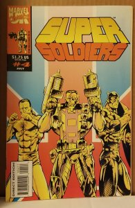 Super Soldiers (UK) #4 (1993)