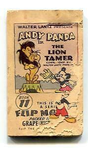 Andy Panda Flip Book #11 Lion Tamer FAIR