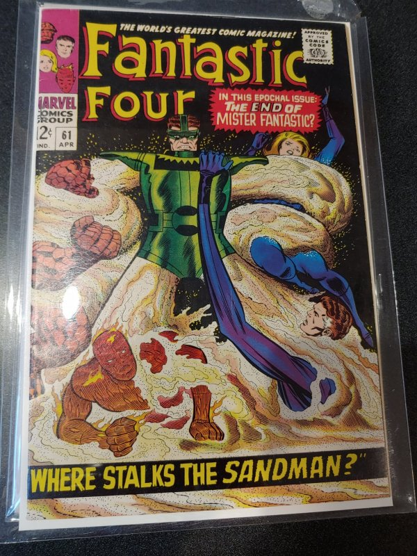 FANTASTIC FOUR #61 VF/NM HIGH GRADE