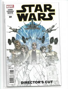 Star Wars (2015 series) #1 Director's Cut in NM  condition. Marvel comics (v20)
