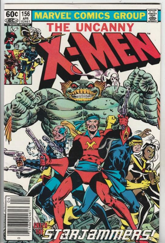X-Men #156 (Mar-82) NM/NM- High-Grade X-Men