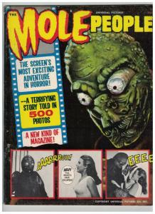 MOLE PEOPLE 1964 ( 0.35 cvrpr) VG1B