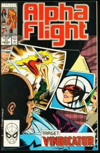 ALPHA FLIGHT #77-MARVEL COMICS-MUTANTS!-JIM LEE NM