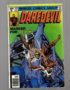 Daredevil # 159 VF Marvel Comic Book Defenders Avengers Hulk Thor Iron Man JK7