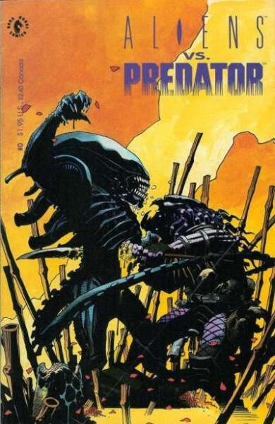 Aliens vs. Predator #0, NM- (Stock photo)
