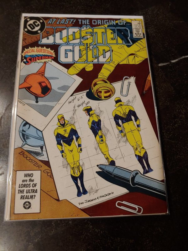 Booster Gold #6 (1986)