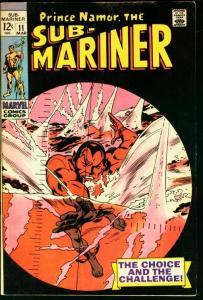 SUB-MARINER #11-MARVEL FN