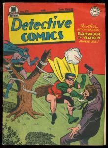 DETECTIVE COMICS #121 1947-BATMAN-HUMAN SLINGSHOT COVER VF-