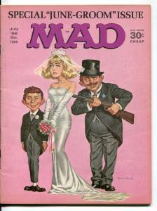 MAD Magazine #104-1966-Mingo-Drucker-Martin-Woodbridge-FN