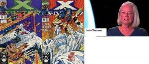 X FACTOR 63-64  L. Simonson  Ice-Man battles in Japan!