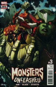 Monsters Unleashed (3rd Series) #3 VF/NM; Marvel | save on shipping - details in