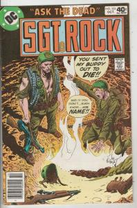 Sgt. Rock #333 (Oct-79) FN/VF Mid-High-Grade Sgt. Rock