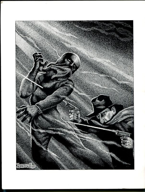Pulp Vault #10 1992-Whisperer-Eerie Tales-Hugh B Cave-R L Bellem-index-VF