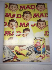 Mad Magazine Number 148 - January 1972 - Wall Painting Cover Art Norman Mingo