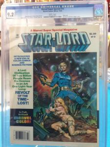 Marvel Super Special #10- CGC 9.2  STAR LORD-GUARDIANS OF THE GALAXY 0207407005