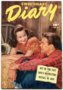 Sweetheart Diary #8 1951- Fawcett Golden Age Romance- VF+
