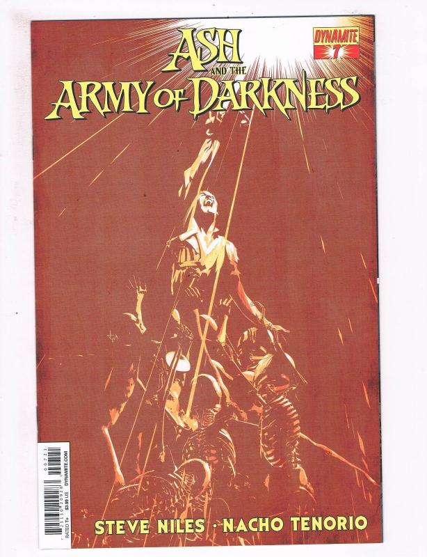Ash And The Army Of Darkness # 7 NM 1st Print Variant Cover Dynamite Comics S65
