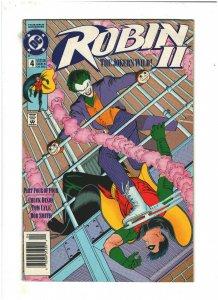 Robin II: The Joker's Wild #4 VF 8.0 Newsstand DC Comics Regular Cover 1991
