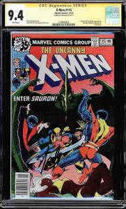 Uncanny X-men #115 (Marvel, 1978) - Stan Lee Signed