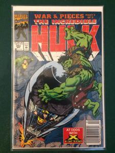 The Incredible Hulk #392 War & Pieces part 3 of 3