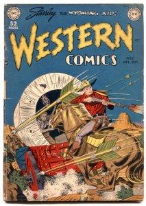 Western Comics #11 1949- Wyoming Kid-  Golden Age G