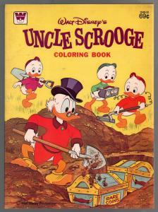 Uncle Scrooge Coloring Book 1978-Walt Disney-69¢ cover price-unused-VF/NM