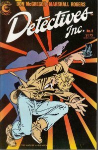 DETECTIVES INC. #2, VF/NM, Don McGregor, Eclipse Comics 1985 more in store