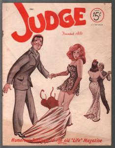 Judge 8/1944-jokes & cartoons- WWII era issue-Bill Wenzel-spicy GGA-VG